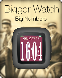 Bigger Watch